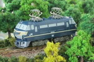 Rokuhan Z scale Z Shorty EF66 ST003-1 Train model Electric locomotive 1/220
