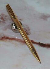 Rare Stylo PORTE MINES WATERMAN CF plaqué OR D290-E387