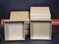 Jewelry Gift Boxes 92 x 90 x 26mm h, Birthdays, Gifts,  Set (8)