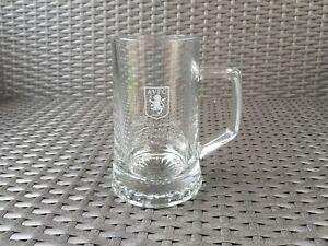 Aston Villa Football Club Pint Glass Tankard Mug