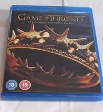 Game of Thrones Complete Second Season Blu-Ray 5 Disc Set REGION B EUROPE HBO