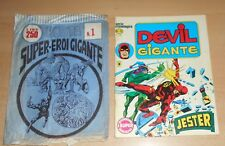 ED.CORNO SERIE DEVIL GIGANTE  N° 15 1977 CON BUSTA ORIGINALE APERTA  N° 1 !!!!!
