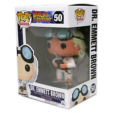 Funko Pop Movies BTTF Back To The Future Doc Dr. Emmett Brown #50 - New MINT HTF