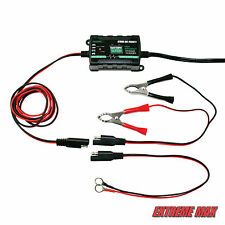Extreme Max Battery Buddy Intelligent 6V / 12V Battery Charger / Maintainer