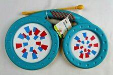Tom Tom Drum Handheld Drum kit Helps with Sense of Rhythm by Halilat Brand New