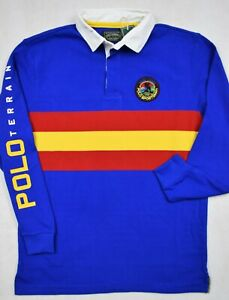 Polo Country Ralph Lauren Sportsman Rugby Shirt 2XB 2XLT Big & Tall NWT $168