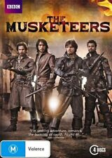The Musketeers (DVD, 2014, 4-Disc Set) L Pasqaulino T Burke S Cabrera LIKE NEW