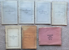 1920s Wooster College Class letter lot Ohio Wayne Country