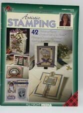 Cuadros artísticos Estampación Por Donna Dewberry Goma Stamping libro #9730