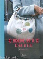 Livre  - Crochet Facile - 35 Créations Vintage