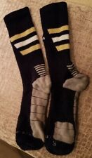 Men's NOTRE DAME Adidas Climalite Football Socks ~ TEAM ISSUED ~ Size Large