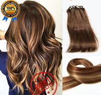 Micro Loop Ring Easy Loop 100% Human Remy Hair Extensions 200S 100G Double Drawn