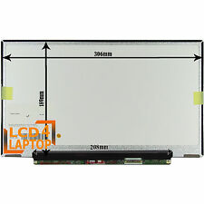 "Replacement Toshiba Portege R830 LP133WH2-TLM4  13.3"" Laptop LED Screen HD"