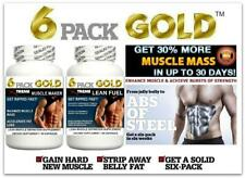 2 Lean Muscle Pill Growth Builder Abs Cortisol Fat Loss Training Lean Energy Aid