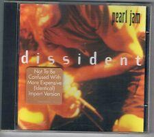 PEARL JAM - DISSIDENT EP  CD