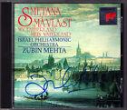 Zubin MEHTA Signiert SMETANA Ma Vlast Mein Vaterland CD ISRAEL PHILHARMONIC Sony