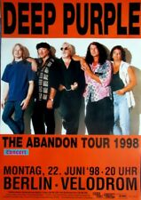 DEEP PURPLE - 1998 - Konzertplakat - Concert - Abandon - Tourposter - Berlin