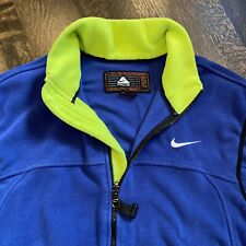 NIKE ACG Fleece Vest Jacket ThermaFit All Conditions Gear vtg 90s 00s Mens LARGE