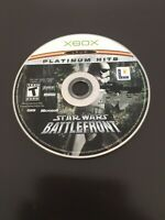 Star Wars: Battlefront II 2 (Xbox, 2005, Original) Platinum Hits Disc Only