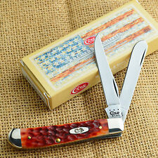 Case Xx Chestnut Bone Mini Trapper Pocket Knife 07012 6207Cv