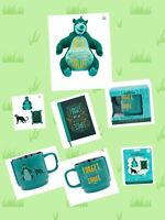 Disney Wisdom Baloo Plush Journal Mug Pin Set LIMITED Edition JUNGLE BOOK GIFT