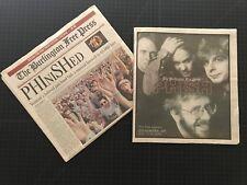 Phish Coventry 2004 Burlington Free Press Newspaper Final Concert Insert extras