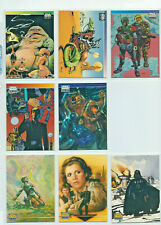 Star Wars - Galaxy Series 1, 2, 3 - 8x Promo Chase Card LOT - Topps - NM