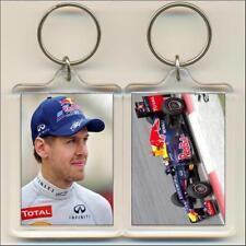 F1 Champions. 2012 Sebastian Vettel. Keyring / Bag Tag.