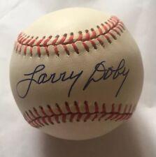52f58639b2a PSA DNA Larry Doby Signed Gene Budig American League Baseball  BEAUTIFUL