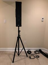 PowerWerks PW100T 100 Watts Personal Music Speaker System with Stand and Cords