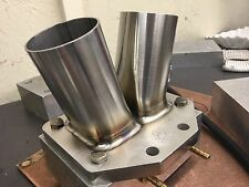 """Borg Warner T6 Turbo Flange  And Collector Mild Steel W/support Tab 2.25"""""""