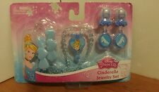 New Disney Princess Cinderella Jewelry Set Beauty girl