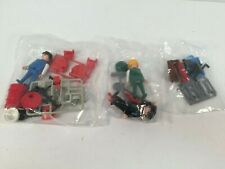 Playmobil Construction Workers Men Figures Accessories Vintage Lot Sealed