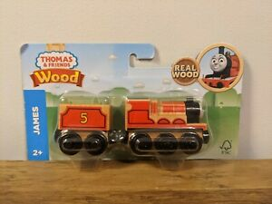 Thomas & Friends Wood James Wooden Train Children's Toy Sealed Fisher Price 2017