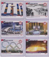2014 TOPPS OLYMPIC OPENING CEREMONY / HERITAGE COMPLETE 22 CARD SET  1924 - 2014