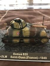 Diecast 1/72 WW2 Somua S35 French Tank. Open to offers and combined postage