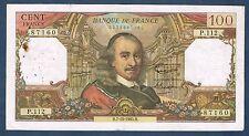 FRANCE - 100 FRANCS CORNEILLE Fay n° 65. 8 du 1-7-1965. en TB   W.102 91273
