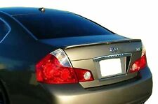 PAINTED SPOILER FOR AN INFINITI M35/M45 LIP FACTORY 2006-2007