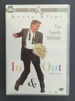 DVD IN & OUT DENTRO O FUERA Kevin Kline Matt Dillon Joan Cusack Tom Selleck F OZ