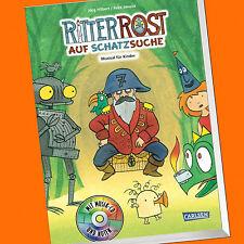 Jörg Hilbert  Ritter Rost (15) auf Schatzsuche   Musical für Kinder (Buch+CD)