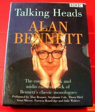 Alan Bennett Talking Heads 2-Tape Audio+PB Book Patricia Routledge/Julie Walters