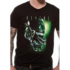Aliens - Alien Head T-shirt Medium Black