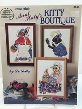 """American School of Needlework """"Kitty Boutique"""" Counted Cross Stitch Chart"""