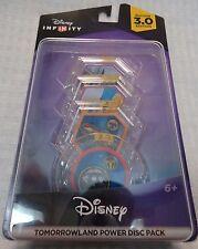 NEW Disney INFINITY 3.0 Tomorrowland Power Disc Pack PS4 XBOX One Wii U