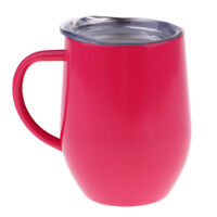 12oz Insulated Mug With Handle Coffee Cup Stainless Steel Double Wall Vacuum