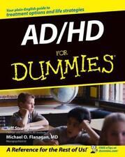 AD/HD For Dummies by Flanagan, Michael O., Strong, Jeff   Paperback Book   97807