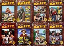 Gene Autry Collection 1-8 DVD Film Set Complete TV Lot Season Bundle Show Series