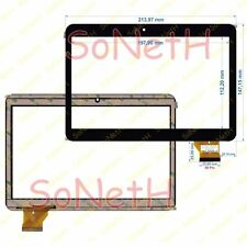 "Vetro Touch screen Digitizer 9,0"" GT90TD901-V1 FHX Tablet PC Nero"
