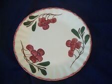 Vintage Blue Ridge Pottery  Cherry Cobbler  Dinner  Plate  9.25 Inches