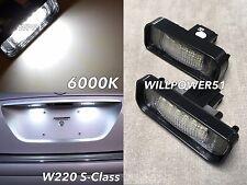 W211 NO ERROR LED LICENSE PLATE LIGHT LAMP FOR 03-09 E280 E320 E350 E500 E55 E63